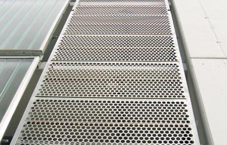 Bosch parkolóhaz metmark perforált lemez homlokzat burkolata 4