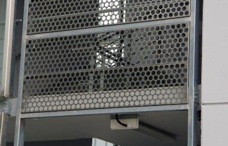 Bosch parkolóhaz metmark perforált lemez homlokzat burkolata 2