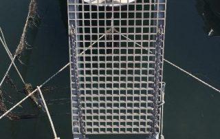Műgyanta rács csónakstég 3
