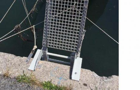 Műgyanta rács csónakstég