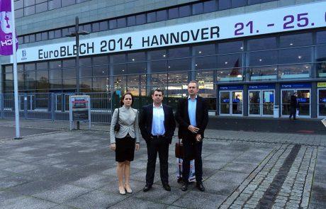 Euroblech 2014 kiállítás Hannoverben 3