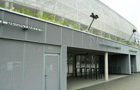 Groupama Stadion Budapest expandált lemez burkolata Metmark 8