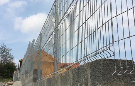 Metmark fémkerítés rendszer Szekszárdon 6