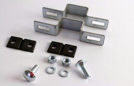 Metmark fémkerítés rendszer köztes elem szett