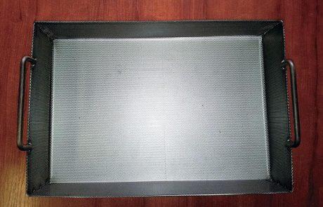 Perforált fémkosár Metmark 1