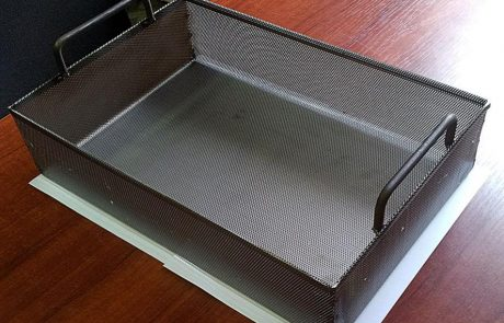 Perforált fémkosár Metmark