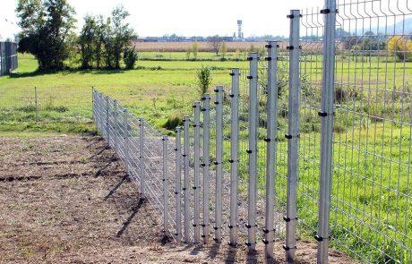 Ponthegesztett kerítésrendszer 6