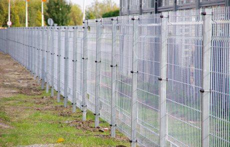 Ponthegesztett kerítésrendszer 3