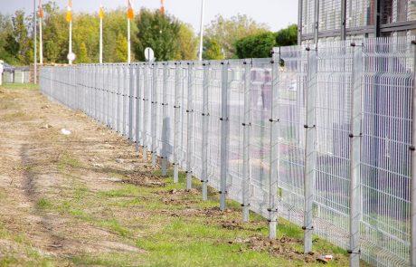 Ponthegesztett kerítésrendszer 1