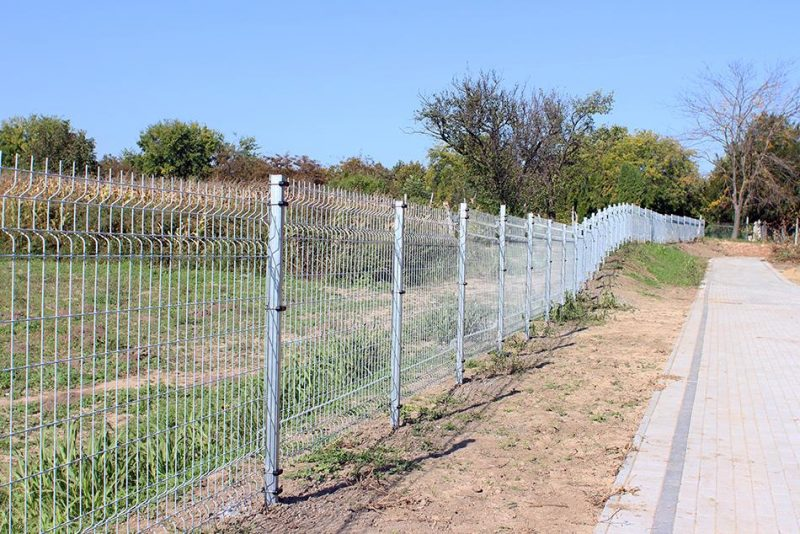 Ponthegesztett kerítésrendszer