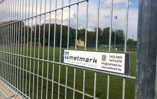 Szekszárd sportpálya Metmark fémkerítése 3