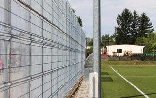 Szekszárd sportpálya Metmark fémkerítése 2