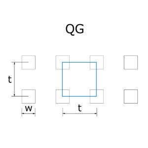QG lyukasztás, perforáció