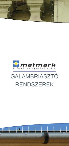 Metmark galambriasztó rendszerek leaflet