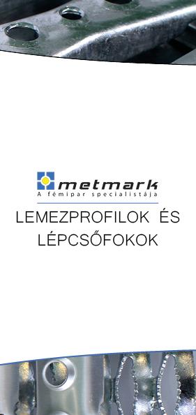 Metmark lemezprofilok és lépcsőfokok leaflet