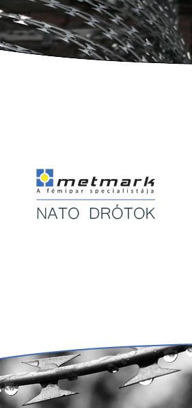 Metmark NATO drótok leaflet